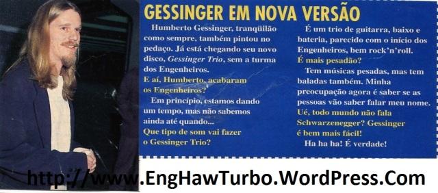 1996 - Gessinger em nova versãoz