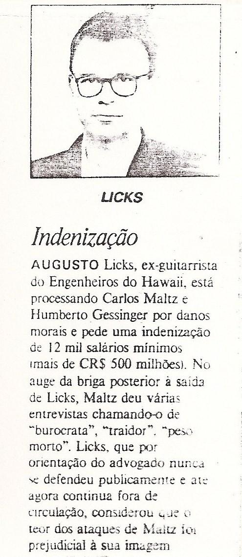 1995 - Indenização