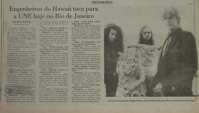 Folha de S Paulo 1994