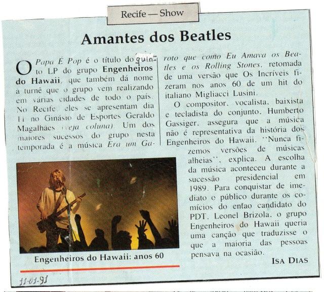 1991 - Recife, PE